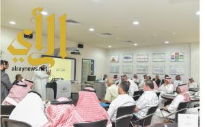 لجنة إعداد التقارير السنوية بجامعة المجمعة تعقد ورشة عمل