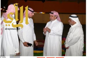 مدير مكتب هيئة الرياضة بالمجمعة يزور نادي الفيحاء