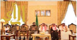 محافظ المجمعة يستقبل المهنئين بعيد الفطر المبارك