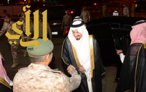 أمير عسير يرعى حفل تخريج الدفعة الأولى من الجنود المرابطين بجامعة الامام