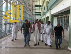 وكيل جامعة الأمير سطام بن عبدالعزيز يتفقد مشاريع كليات فرع الجامعة