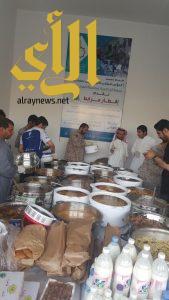 جمعية ظهران الجنوب تنظم افطار المرابطين على الحدود