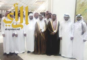 آل عريعر يحتفلون بزواج عبدالله في ظهران الجنوب