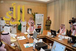 أمير منطقة حائل يدشن عدداً من مشروعات المياه بالمنطقة