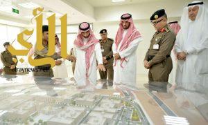 نائب أمير منطقة مكة المكرمة يزور مركز العمليات الأمنية الموحد 911