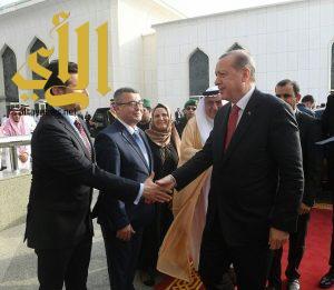 الرئيس اردوغان يغادر جدة