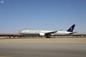 الخطوط السعودية تتسلم طائرتين جديدتين من طراز (B777-300ER ) و (A330-300)