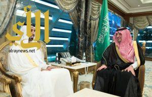 سمو وزير الداخلية يستقبل سفيري دولة الكويت والإمارات لدى المملكة