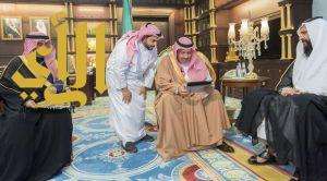 أمير منطقة الباحة يستقبل مدير فرع الأحوال المدنية بالمنطقة