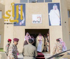 أمير الباحة يفتتح مبني الخدمات البلدية بمركز ناوان