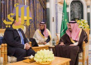 خادم الحرمين الشريفين يستقبل مدير وكالة الاستخبارات المركزية الأمريكية
