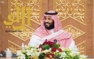 سمو ولي ولي العهد يجتمع مع رؤساء كبرى الشركات الأمريكية والسعودية