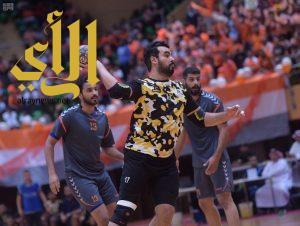 مضر يحقق بطولة الدوري الممتاز لكرة اليد