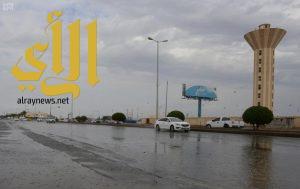 أمطار الخير والبركة تهطل بغزارة على منطقة جازان