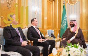 نائب خادم الحرمين الشريفين يجتمع مع مبعوث الرئيس الأمريكي لمكافحة داعش
