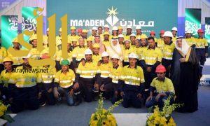 """""""الفيصل"""" يُدشّن منجم """"الدويحي"""" للذهب ومشاريع البنية الأساسية للتعدين بمنطقة مكة المكرمة"""