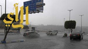 أمطار غزيرة على عسير والدفاع المدني ينبه المواطنين من المكوث في مجاري السيول