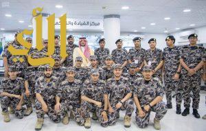 وزير الداخلية يزور قيادة قوات أمن المنشآت