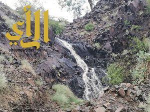 هطول أمطار الخير والبركة على منطقة جازان