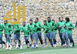 المنتخب السعودي الأول لكرة القدم يستأنف تدريباته في إسبانيا
