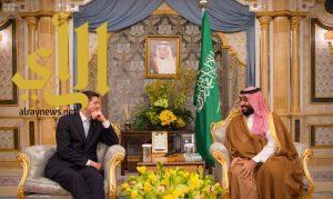 سمو ولي العهد يلتقي رئيس مجلس النواب الأمريكي