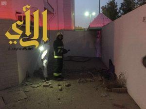 إصابة اثنين من المواطنين بنجران إثر سقوط مقذوفات عسكرية من الأراضي اليمنية