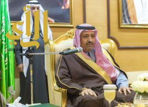 أمير الباحة يلتقي رؤساء المراكز بالمنطقة