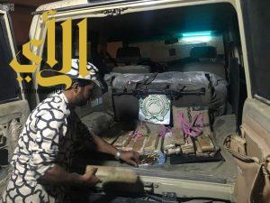 دوريات المجاهدين تحبط العديد من عمليات التهريب بجازان العام الماضي