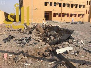 ميليشيات الحوثي تستهدف مدرسة في صامطة