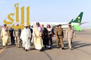 الرئيس السوداني يصل المدينة المنورة