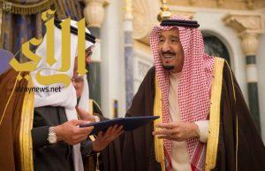 الملك سلمان يُكرّم الفائزين والفائزات بجائزة الملك عبدالعزيز للكتاب