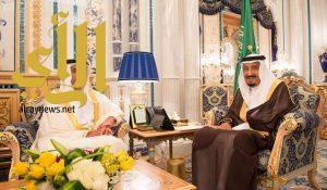 الملك سلمان يستقبل نائب رئيس مجلس الوزراء الإماراتي