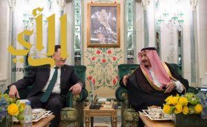 الملك سلمان يستقبل رئيس المجلس الرئاسي لحكومة الوفاق الوطنية الليبية