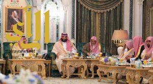 الملك سلمان يستقبل أصحاب الفضيلة العلماء وأئمة ومؤذني المسجد الحرام