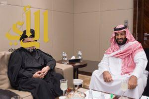 نائب خادم الحرمين الشريفين يلتقي زعيم التيار الصدري