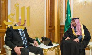 الملك سلمان يستقبل رئيس ديوان الرقابة المالية الاتحادي بالجمهورية العراقية