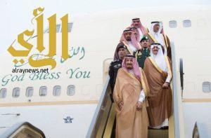 الملك سلمان يصل إلى المنطقة الشرقية قادماً من الرياض