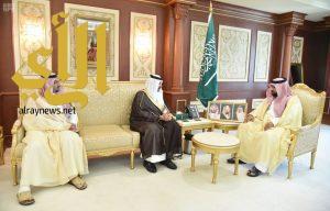 نائب أمير جازان يستقبل مدير عام المجاهدين بوزارة الداخلية