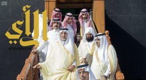 أمير منطقة مكة المكرمة يتشرف بغسل الكعبة المشرفة