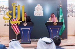 الجبير : المملكة تؤيد سياسة الرئيس الأمريكي تجاه إيران
