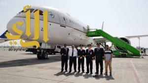 طائرة جديدة من طراز بوينج (B787-9) تنضم لأسطول الخطوط السعودية