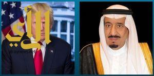 الملك سلمان و ولي العهد يهنئان رئيس الولايات المتحدة الأمريكية بذكرى استقلال بلاده