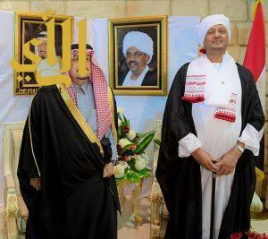 أمير منطقة الرياض يشرف حفل سفارة جمهورية السودان