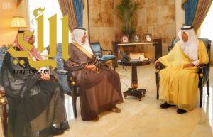 أمير منطقة مكة المكرمة ونائبه يستقبلان وزير النقل