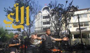 مقتل تسعة أشخاص جراء تفجيرات استهدفت ثلاث كنائس في إندونيسيا