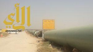 أمانة الشرقية تبدأ في تنفيذ المرحلة الأولى من مشروع تصريف مياه الأمطار في حي الفاخرية