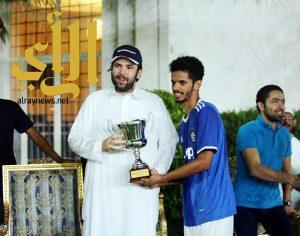 اليوفي يتوج بكأس إفتتاح سُداسيات عبدالله بن سعد