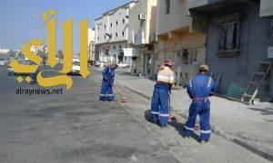 بلدية سيهات: رفع 224 متر مكعب من الأنقاض مجهولة المصدر