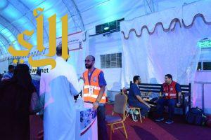 أكثر من 100 متطوع ومتطوعة يشاركون فرق الهلال الأحمر في مهرجان صيف الشرقية 38