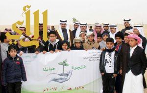 بلدية النعيرية: انطلاق فعاليات أسبوع الشجرة  الـ 40 تحت شعار ( الشجرة حياتنا )